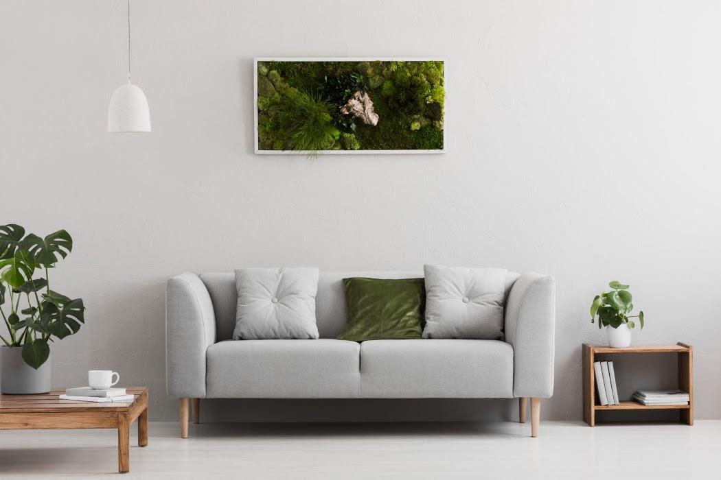 Roślinne dekoracje w domu